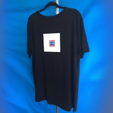 F.O.S. ® BLACK TEE SHIRT SIZE XL